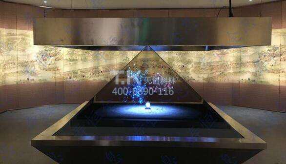 zhuan变传统展shi理念体现全息3D展shi柜ule平tai登录优shi
