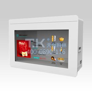 透明液晶xian示柜的原理